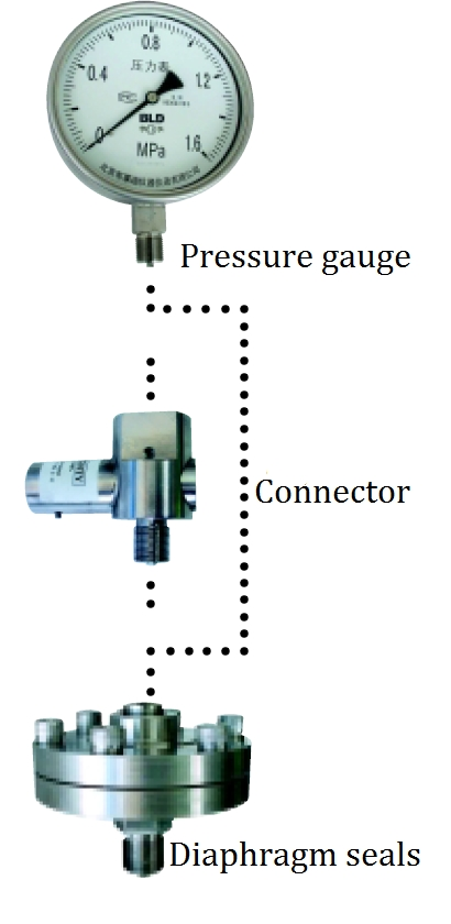 Example of Diaphragm Pressure Gauge
