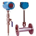 digital thermal mass gas flow meter